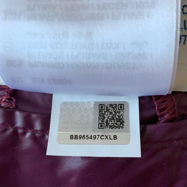 Moncler Pristine Condition Tags Attached Imported Coat Image 8