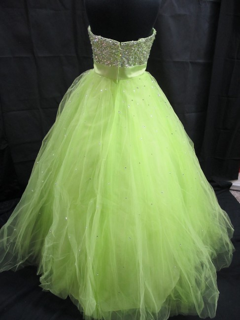 Mori Lee Prom Pageant Homecoming Ball Gown Dress Image 1