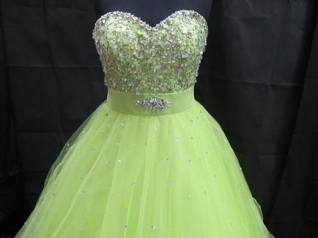 Mori Lee Prom Pageant Homecoming Ball Gown Dress Image 2