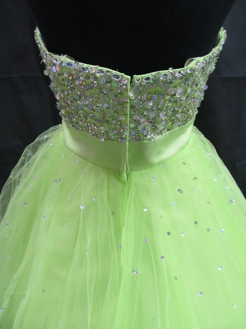 Mori Lee Prom Pageant Homecoming Ball Gown Dress Image 3