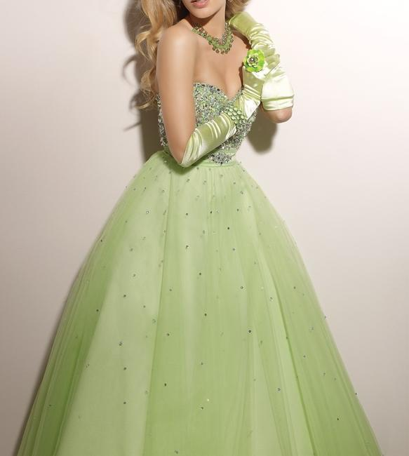 Mori Lee Prom Pageant Homecoming Ball Gown Dress Image 4