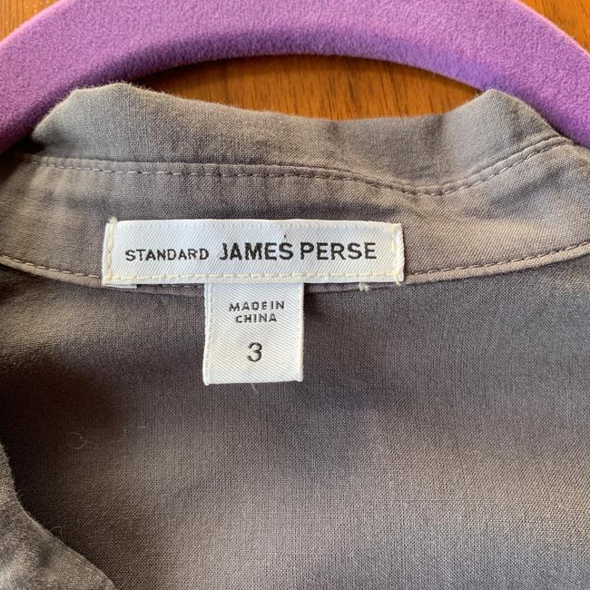 James Perse Button Down Shirt grey Image 2