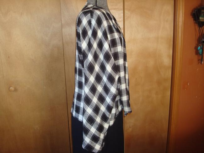Jerry Giardelli Line black and white check Jacket Image 1