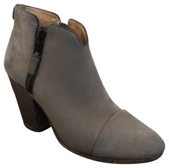 Rag & Bone gray leather Boots Image 1