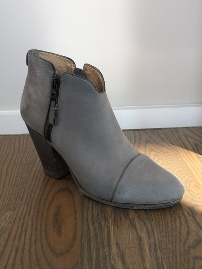Rag & Bone gray leather Boots Image 2