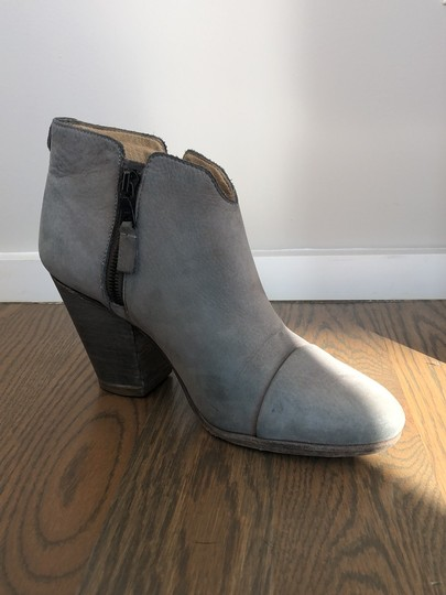 Rag & Bone gray leather Boots Image 3