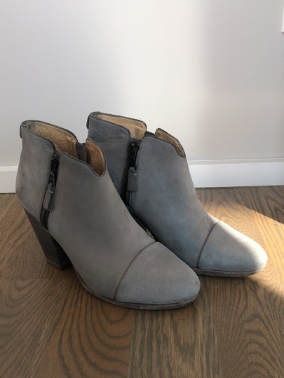 Rag & Bone gray leather Boots Image 4