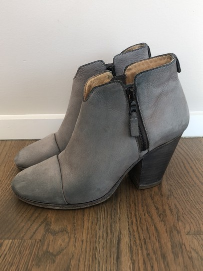 Rag & Bone gray leather Boots Image 6