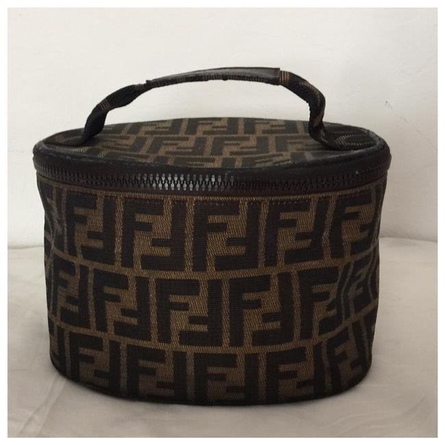 Item - Vintage Zucca Ff Logo Vanity Pouch Used Cosmetic Bag