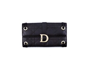 Dior Cannage Leather Lady Dior Clutch Wallet Italy