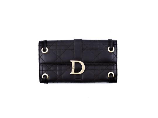 Preload https://img-static.tradesy.com/item/25048076/dior-brown-lady-dior-cannage-leather-clutch-italy-wallet-0-0-540-540.jpg