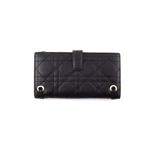 Dior Cannage Leather Lady Dior Clutch Wallet Italy Image 2