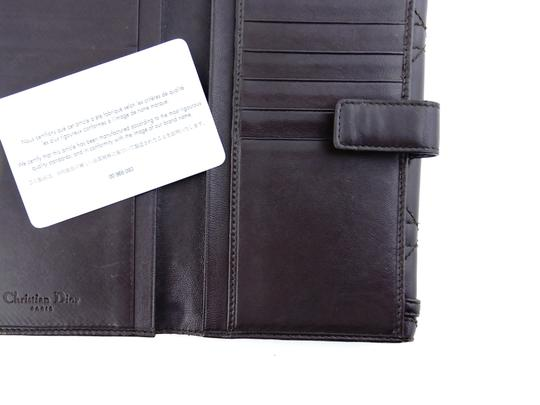 Dior Cannage Leather Lady Dior Clutch Wallet Italy Image 5