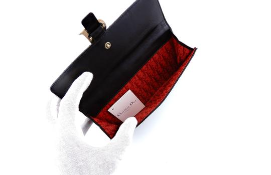 Dior Cannage Leather Lady Dior Clutch Wallet Italy Image 6