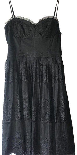 Preload https://img-static.tradesy.com/item/25048289/forever-21-black-lace-mid-length-night-out-dress-size-12-l-0-1-650-650.jpg