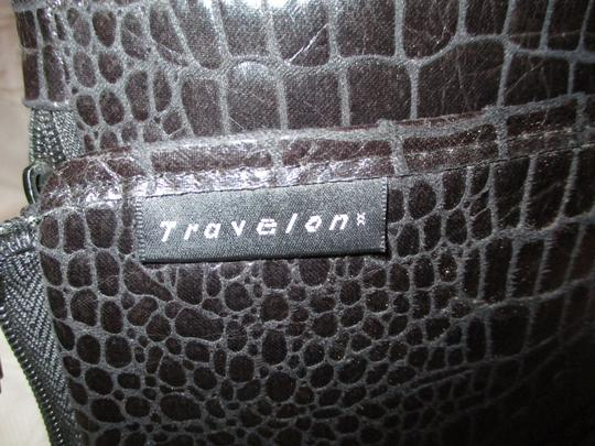 Travelon Organizer Faux Croc Onm 002 Cross Body Bag Image 8