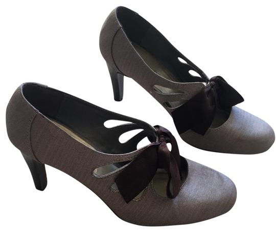 Ann Marino Brown Pumps Image 0