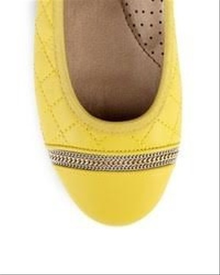 Chico's yellow Flats Image 6