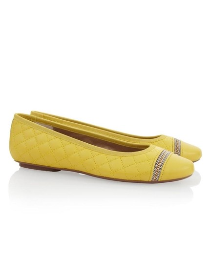 Chico's yellow Flats Image 8