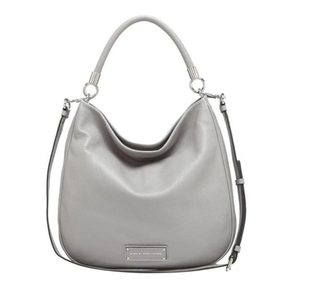 Item - Too Hot Too Handle Large (New with Tags) Storm Gray/Silver Leather Hobo Bag
