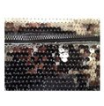 BCBGeneration Metallic Fold Over Silver Sequin Clutch BCBGeneration Metallic Fold Over Silver Sequin Clutch Image 3