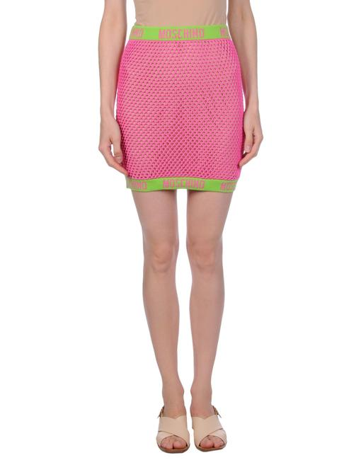 Preload https://img-static.tradesy.com/item/25049366/moschino-pink-couture-monogram-knit-swimsuit-cover-skirt-size-10-m-31-0-1-650-650.jpg