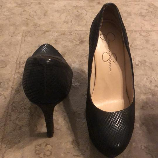 Jessica Simpson black Platforms Image 6