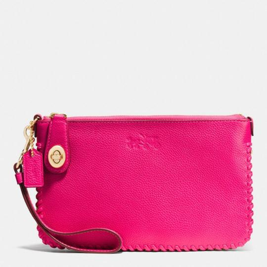Coach Wristlet in Pink Ruby Image 1
