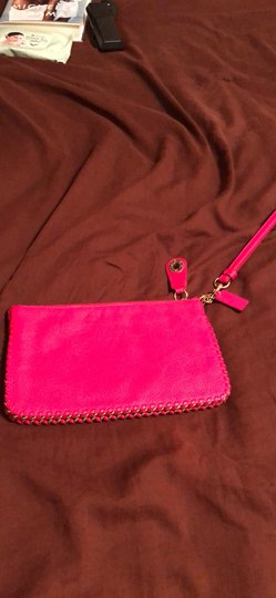 Coach Wristlet in Pink Ruby Image 2