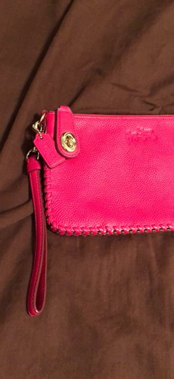 Coach Wristlet in Pink Ruby Image 5
