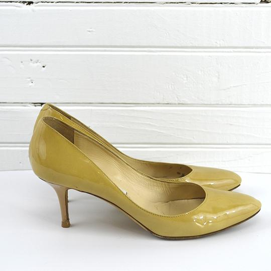 Jimmy Choo Fall Spring Summer Luxury Night Out TAN Pumps Image 2