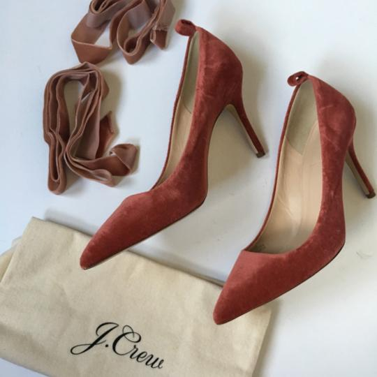 J.Crew rusted red Pumps Image 1