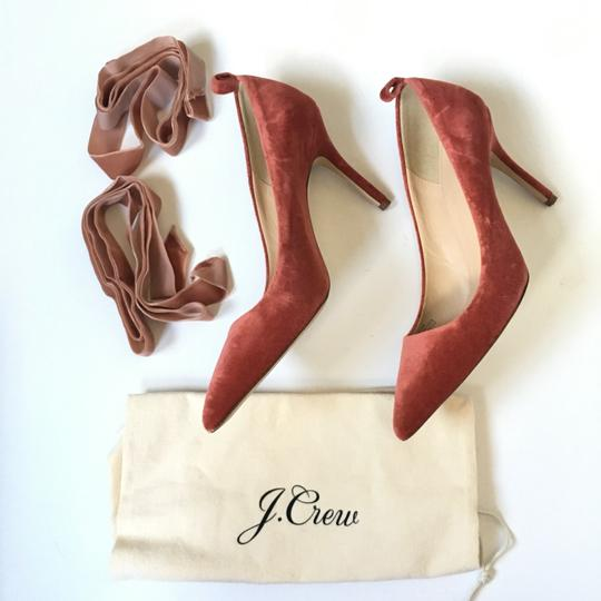 J.Crew rusted red Pumps Image 11