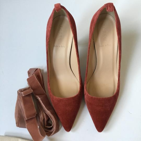 J.Crew rusted red Pumps Image 2