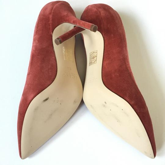 J.Crew rusted red Pumps Image 4