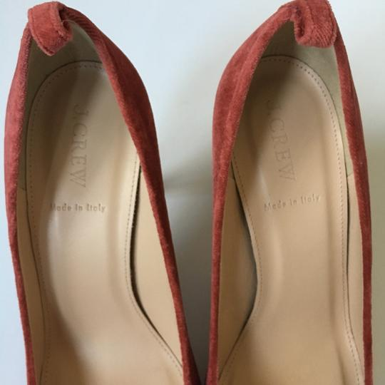J.Crew rusted red Pumps Image 6