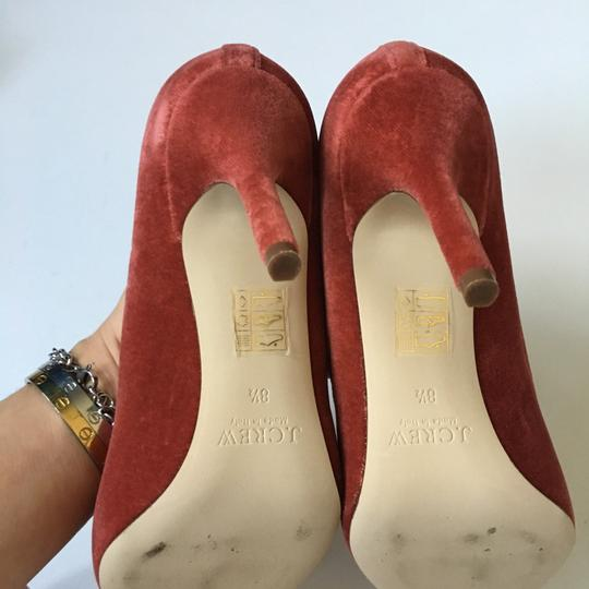 J.Crew rusted red Pumps Image 7