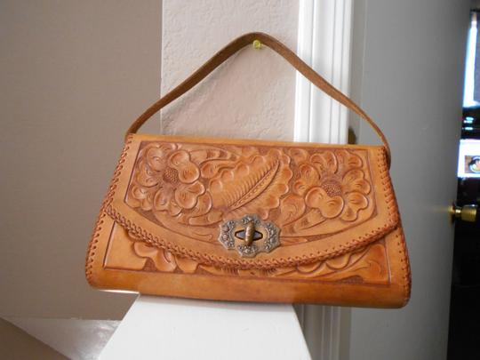 Ed Scherer Brown Clutch Image 1
