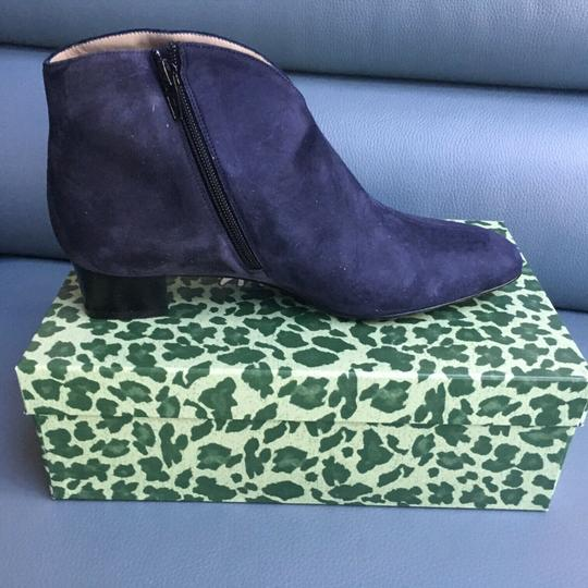 French Sole Blue Boots Image 1