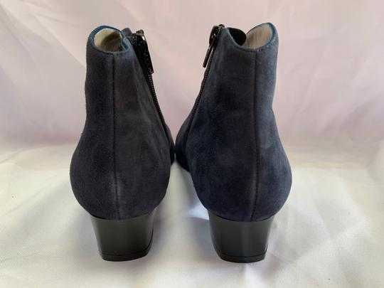 French Sole Blue Boots Image 5