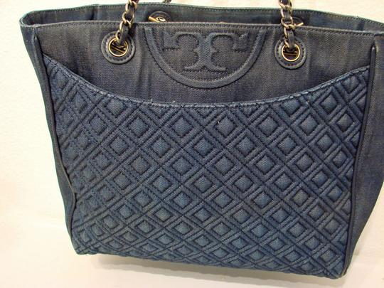 Tory Burch Tote in Blue Image 6
