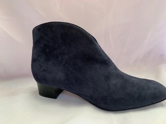 French Sole Blue Boots Image 3