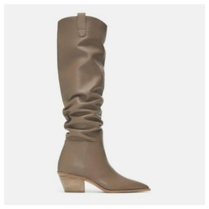 Zara Taupe Boots