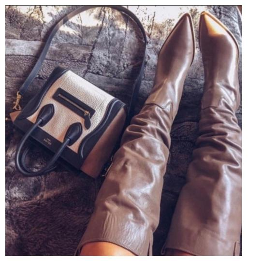 Zara Taupe Boots Image 1