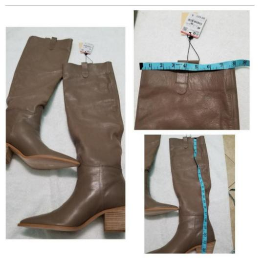 Zara Taupe Boots Image 6