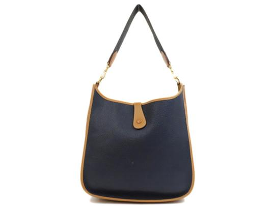 Preload https://img-static.tradesy.com/item/25050118/hermes-evelyne-bicolor-navy-235661-blue-leather-shoulder-bag-0-0-540-540.jpg