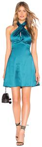 About Us short dress Teal on Tradesy