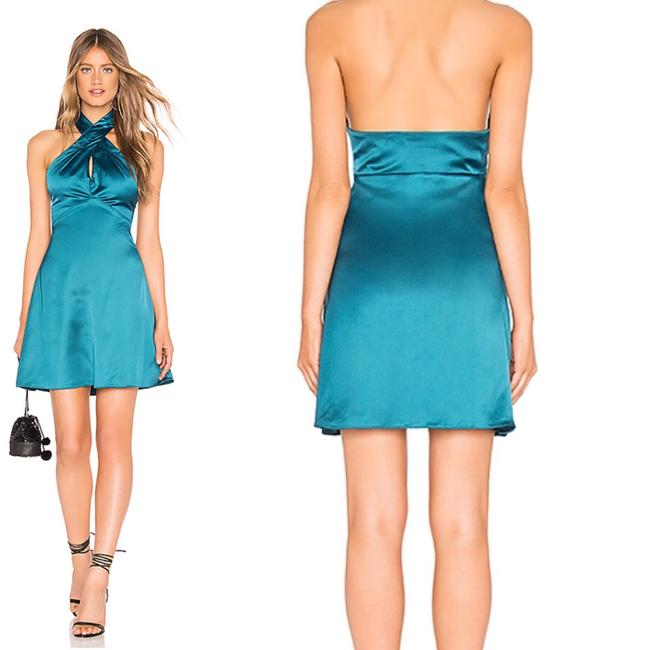 About Us short dress Teal on Tradesy Image 1