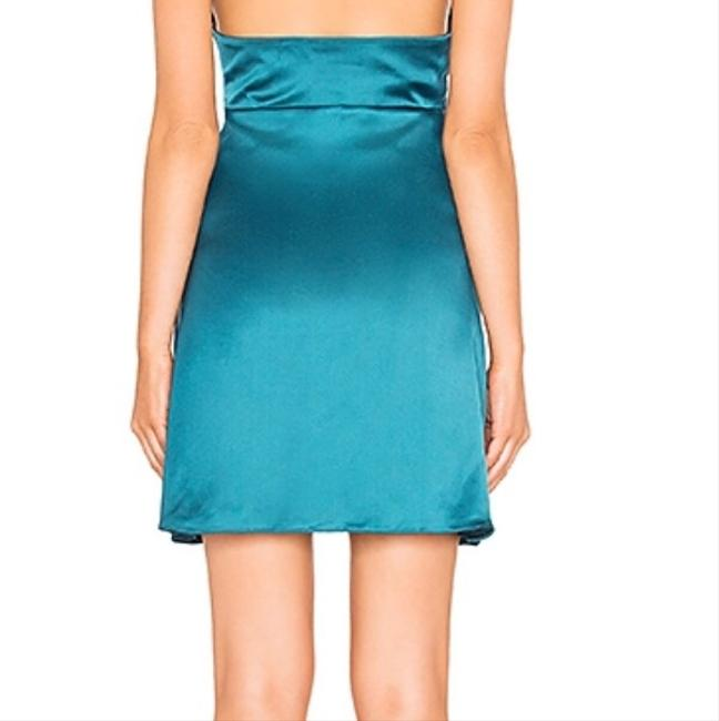 About Us short dress Teal on Tradesy Image 2