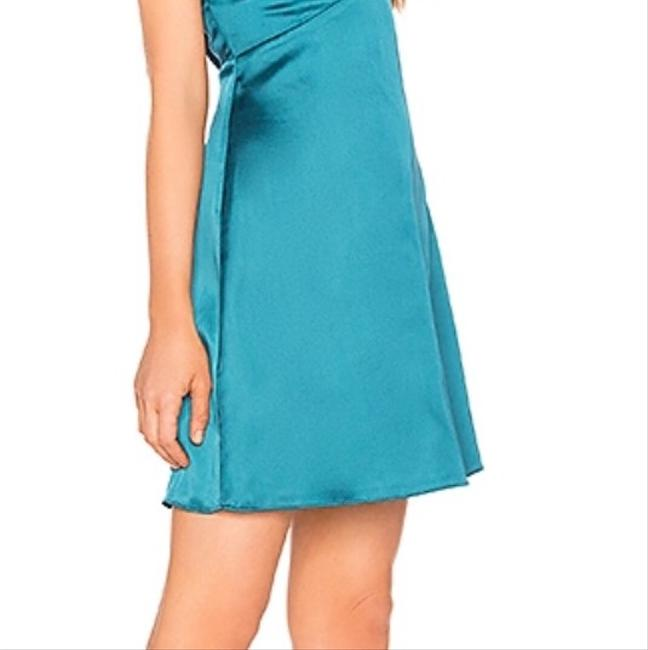 About Us short dress Teal on Tradesy Image 3
